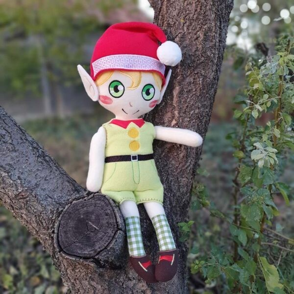 Christian elve boy Doll 4 SIZES
