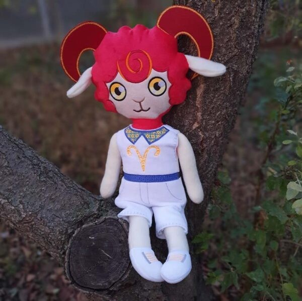 Ram doll machine embroidery design ith