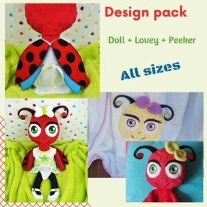 Daisy Ladybug Design Pack