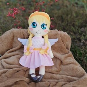 angel Doll 4 SIZES machine embroidery ith