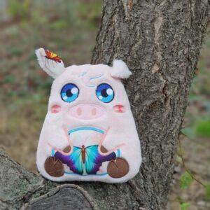 DIY Piglet Plush Toy