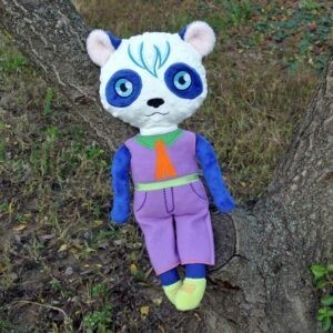Panda Doll 4 SIZES machine embroidery ith