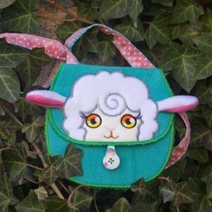 Valery sheep purse 4 SIZES