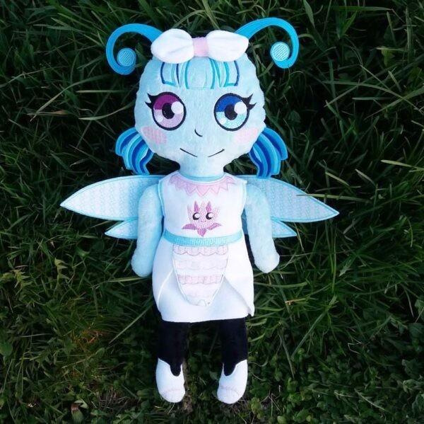 Dragonfly Girl Doll