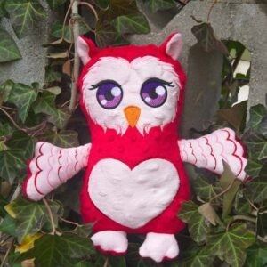 Big Eyes Owl Plushie Pattern