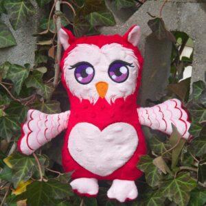 Big Eyes Owl Plushie Pattern