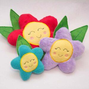 DIY Flower Plush Toy