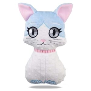 Cat girl stuffie ITH machine embroidery design