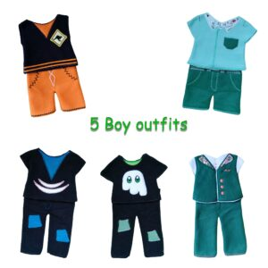 ITH doll outfits boys