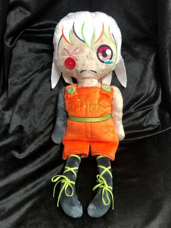 Scary Halloween Annabelle Voodoo  Doll