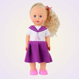 Isla AGD american girl dress ITH machine embroidery project