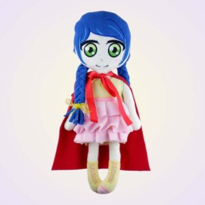 Little red riding hood doll machine embroidery pattern design project diy 3