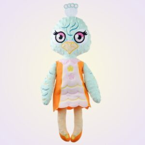 Peafowl Girl Doll - ITH embroidery design