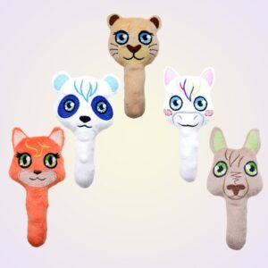 ITH Machine Embroidery Baby Rattle Toy Pattern Set 1