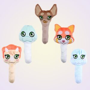 ITH Machine Embroidery Baby Rattle Toy Pattern Set