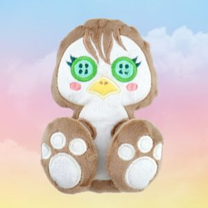 Eagle machine embroidery design in the hoop pattern project soft toy diy