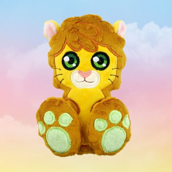 Lion machine embroidery design in the hoop pattern project soft toy diy