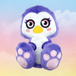 Penguin machine embroidery design in the hoop pattern project soft toy diy
