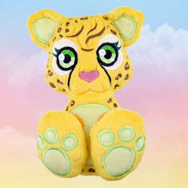 Cheetah machine embroidery design in the hoop pattern project soft toy diy