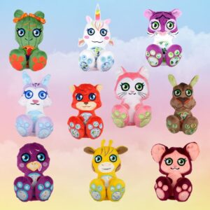 cactus unicorn tiger chipmunk fox cat camel turkey giraffe mouse machine embroidery design in the hoop pattern project soft toy diy (3)